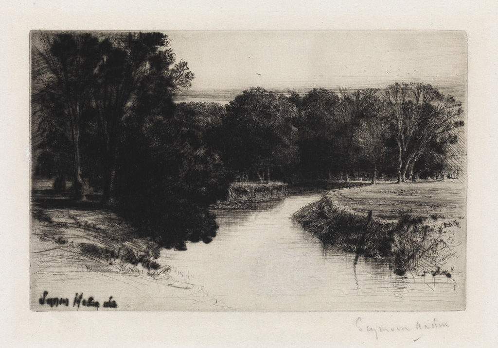 FRANCIS-SEYMOUR-HADEN-Group-of-4-etchings-with-drypoint