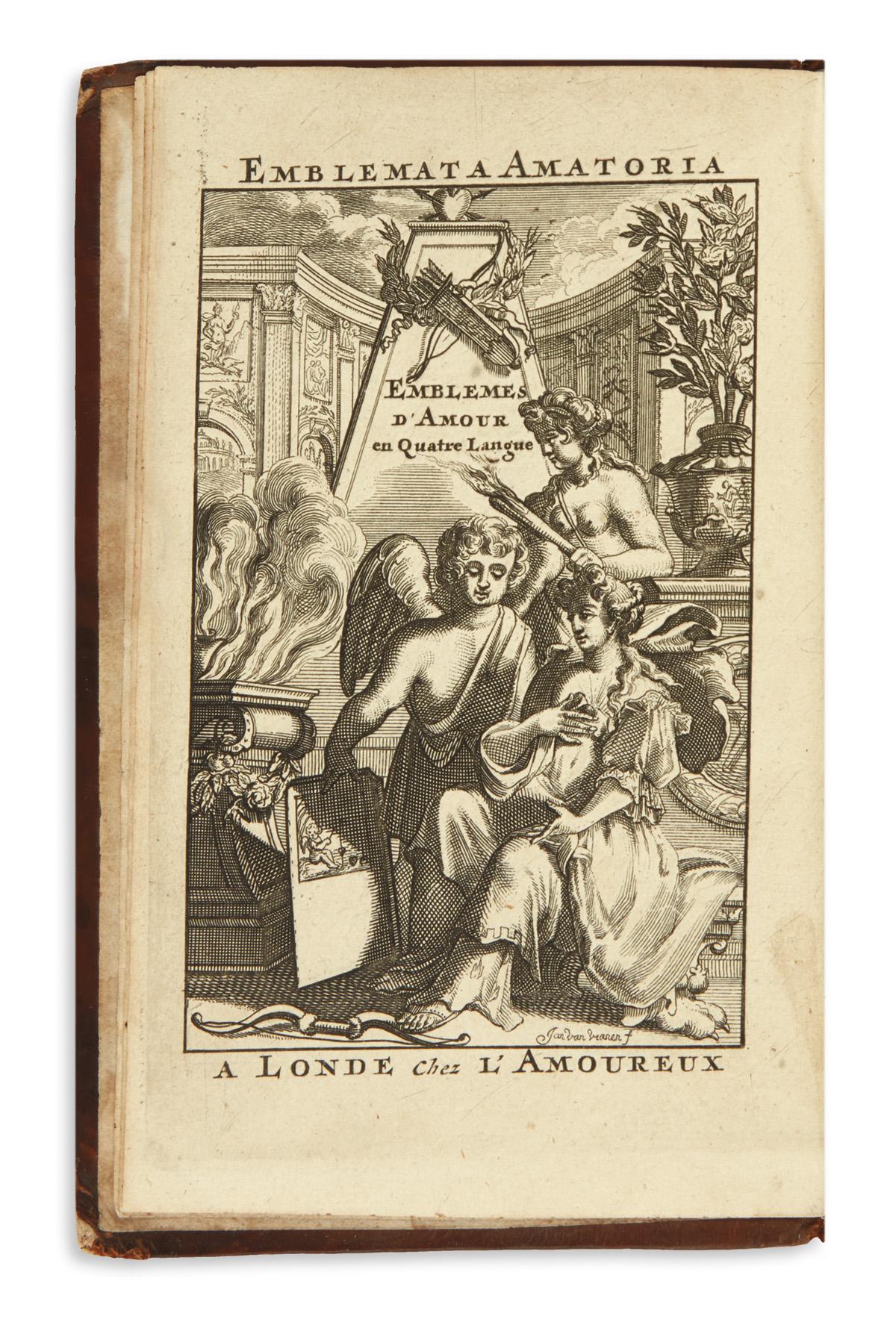[AYRES-PHILIP]--Emblemata-Amatoria-Emblemes-dAmour-en-Quatre