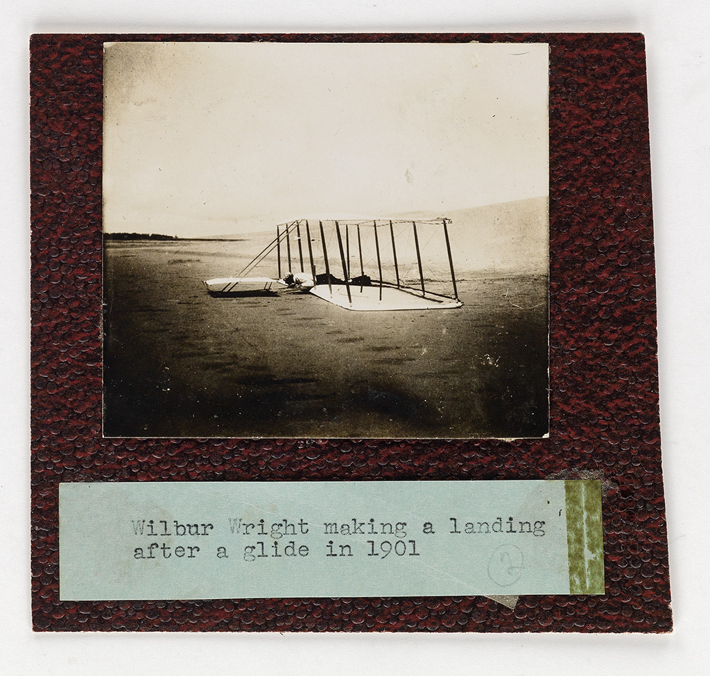 (WRIGHT BROTHERS) Group of 19 photographs, most are from an album formerly in the collection of Frank Hermes,