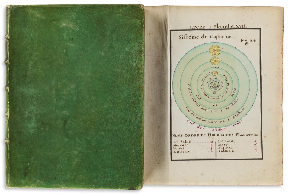 Manuscript in French, Cosmography, Astronomy. Traité de la Sphere.