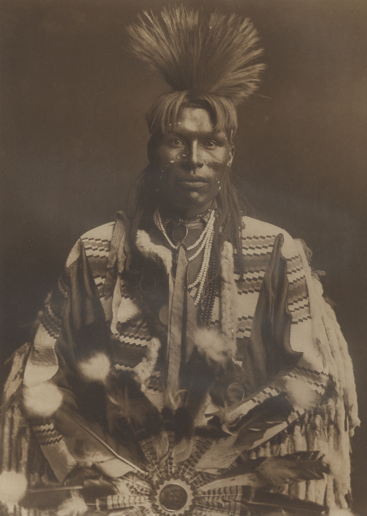 EDWARD S. CURTIS (1868-1952) Group of 6 large-format photogravures from The North American Indian, Portfolio VI.