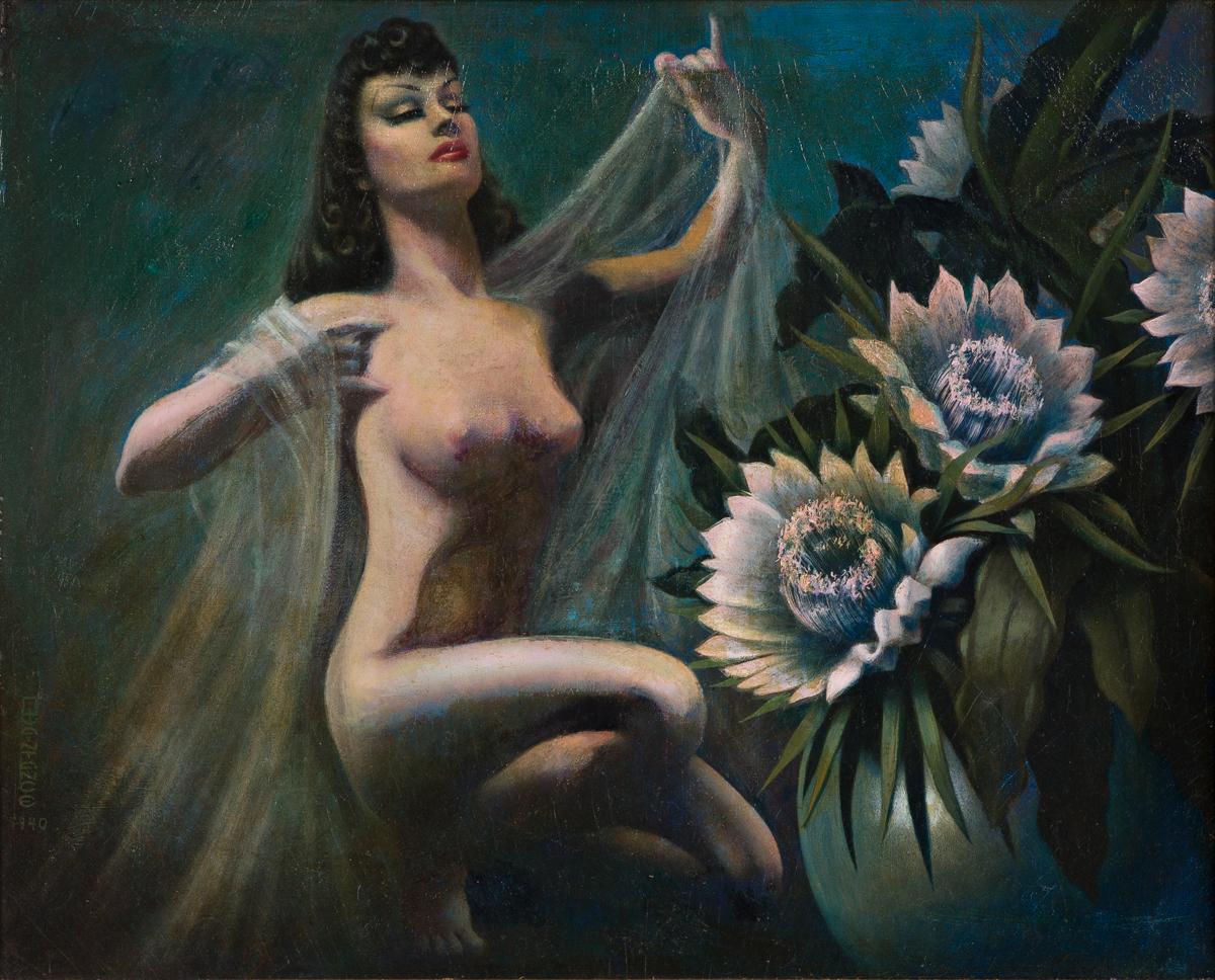 GEORGE QUAINTANCE (1902-1957) Female Nude.