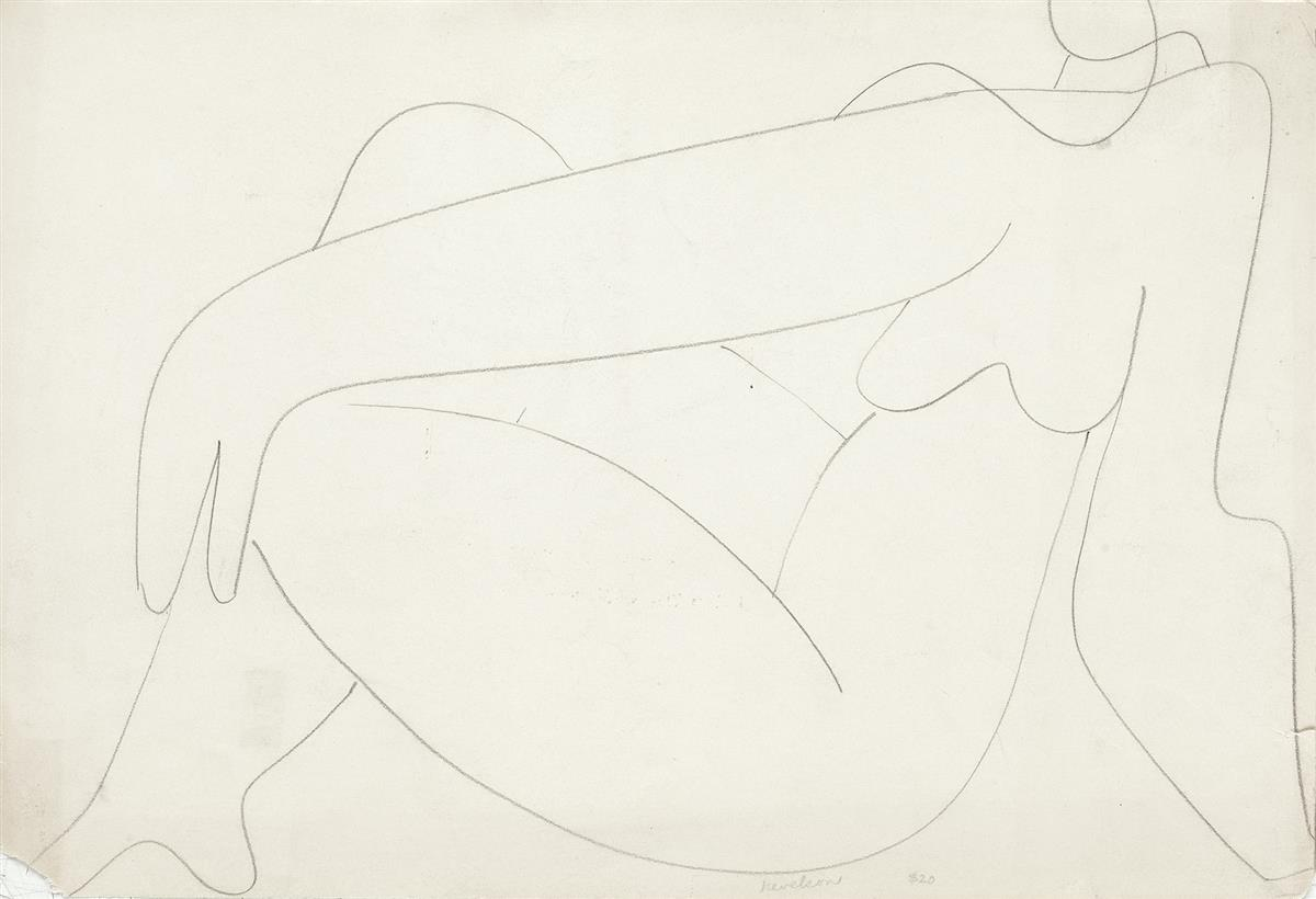 LOUISE-NEVELSON-Reclining-Nude