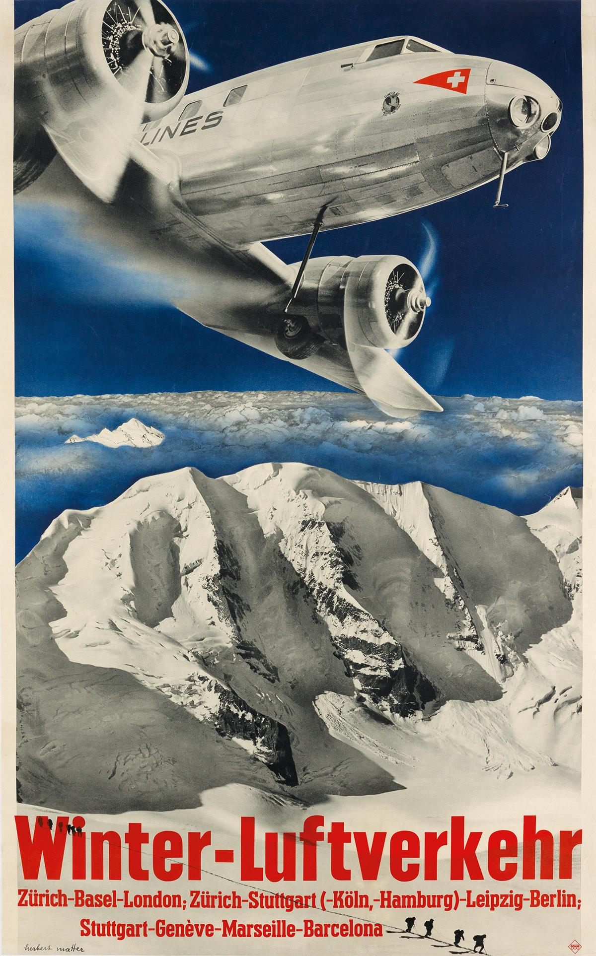 HERBERT-MATTER-(1907-1984)-WINTER---LUFTVERKEHR-1935-40x25-i