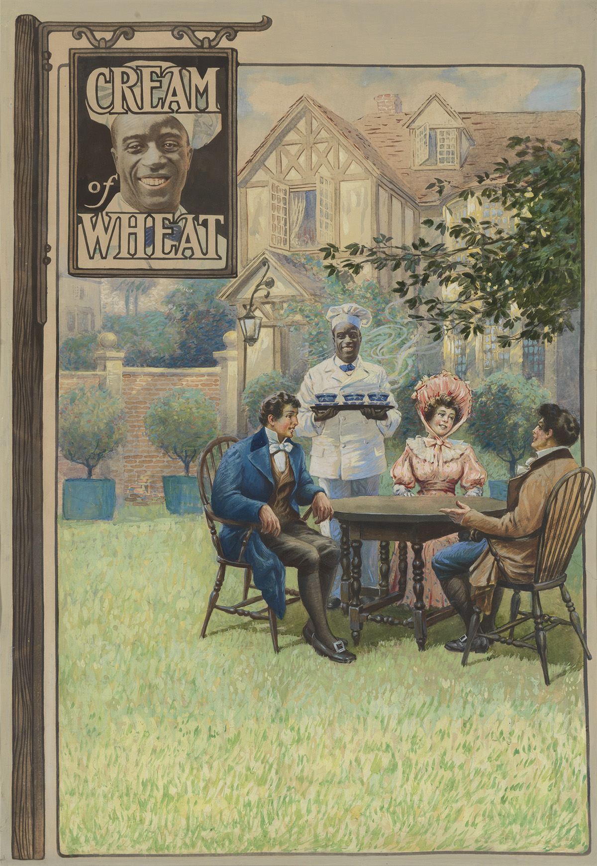 ADVERTISING-WILLIAM-V-CAHILL-A-Sign-of-Good-Eating-Cream-of-Wheat