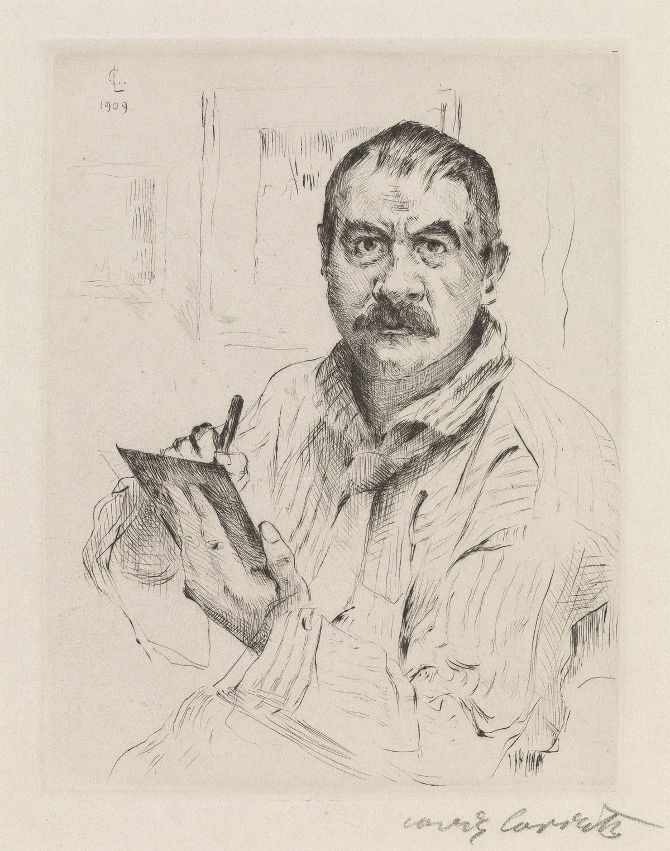 LOVIS-CORINTH-Group-of-6-self-portraits