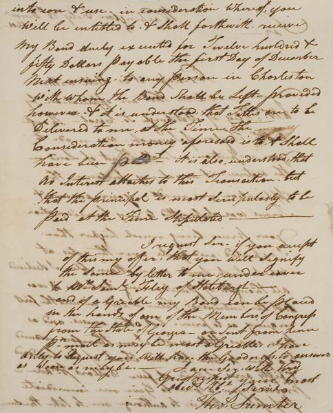 American-Revolution-SUMTER-THOMAS-Autograph-Letter-Signed
