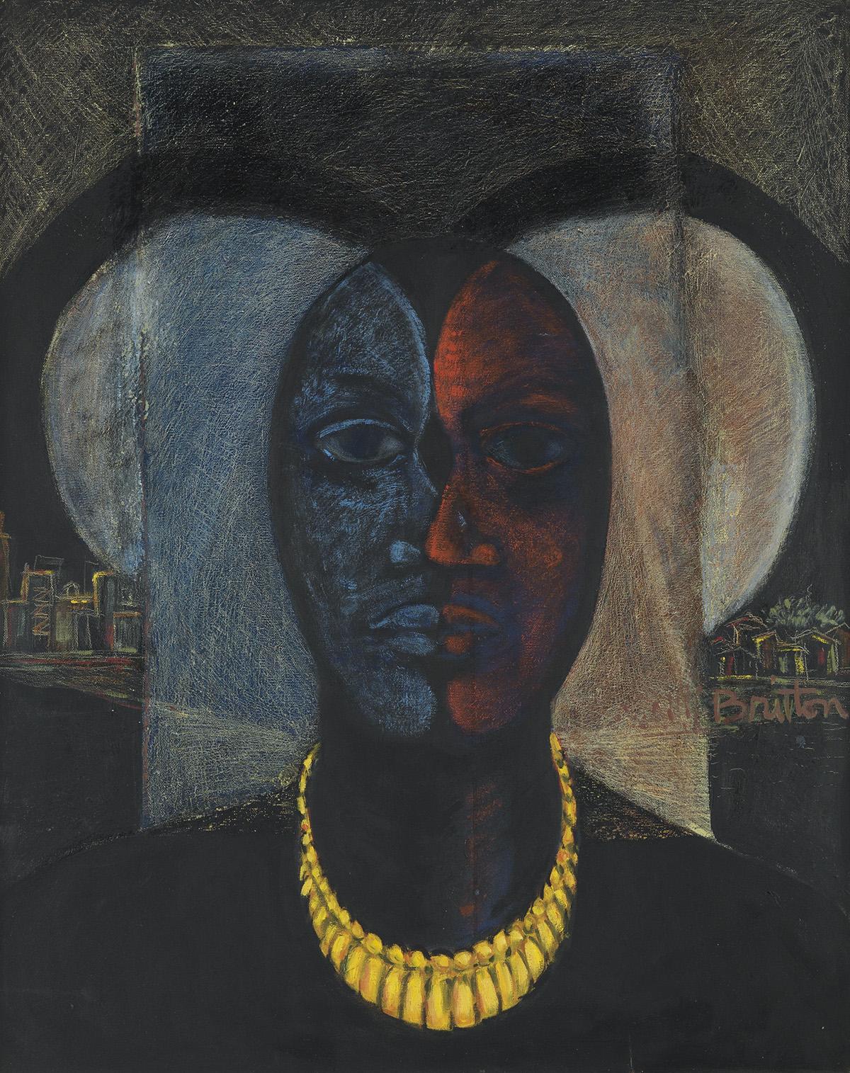 SYLVESTER BRITTON (1926 - 2009) The Prize.