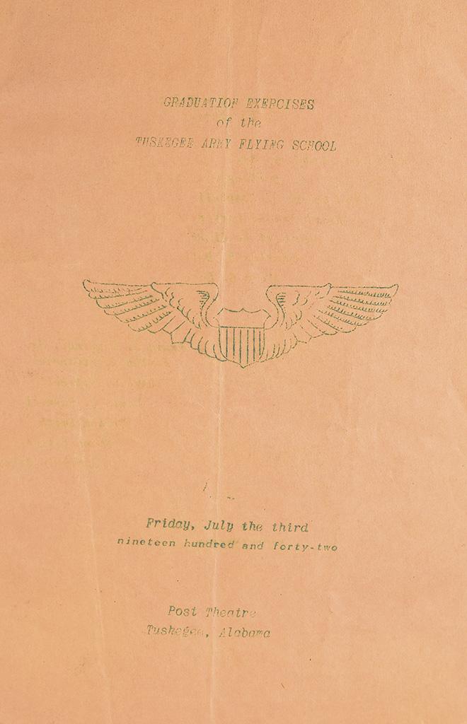 (MILITARY--WORLD WAR II.) TUSKEGEE FLYING SCHOOL. Personal Scrap Book of Captain Della Hayden Raney.