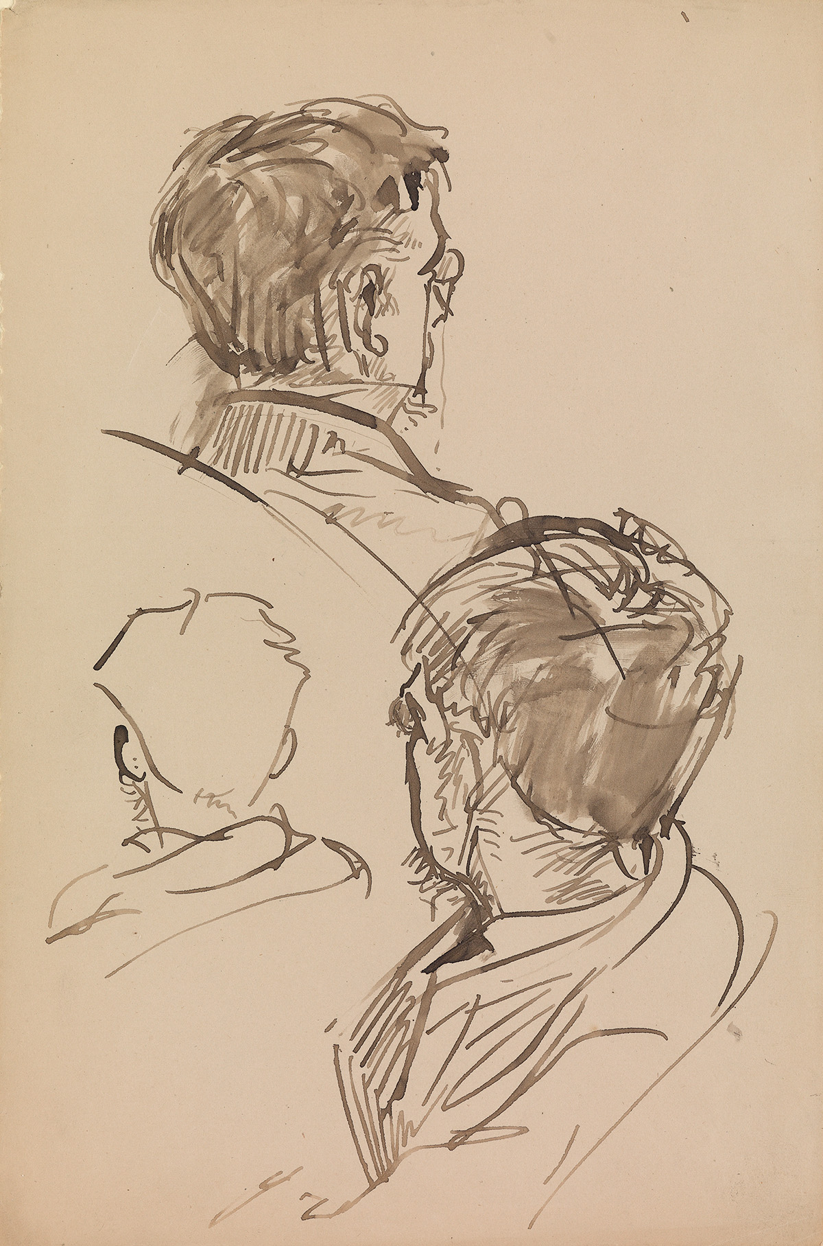 ALFRED-DEHODENCQ-(Paris-1822-1882-Paris)-Two-pen-and-ink-and