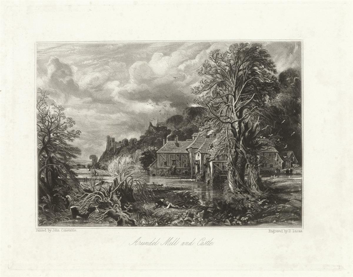 DAVID-LUCAS-(after-Constable)-Collection-of-18-mezzotints