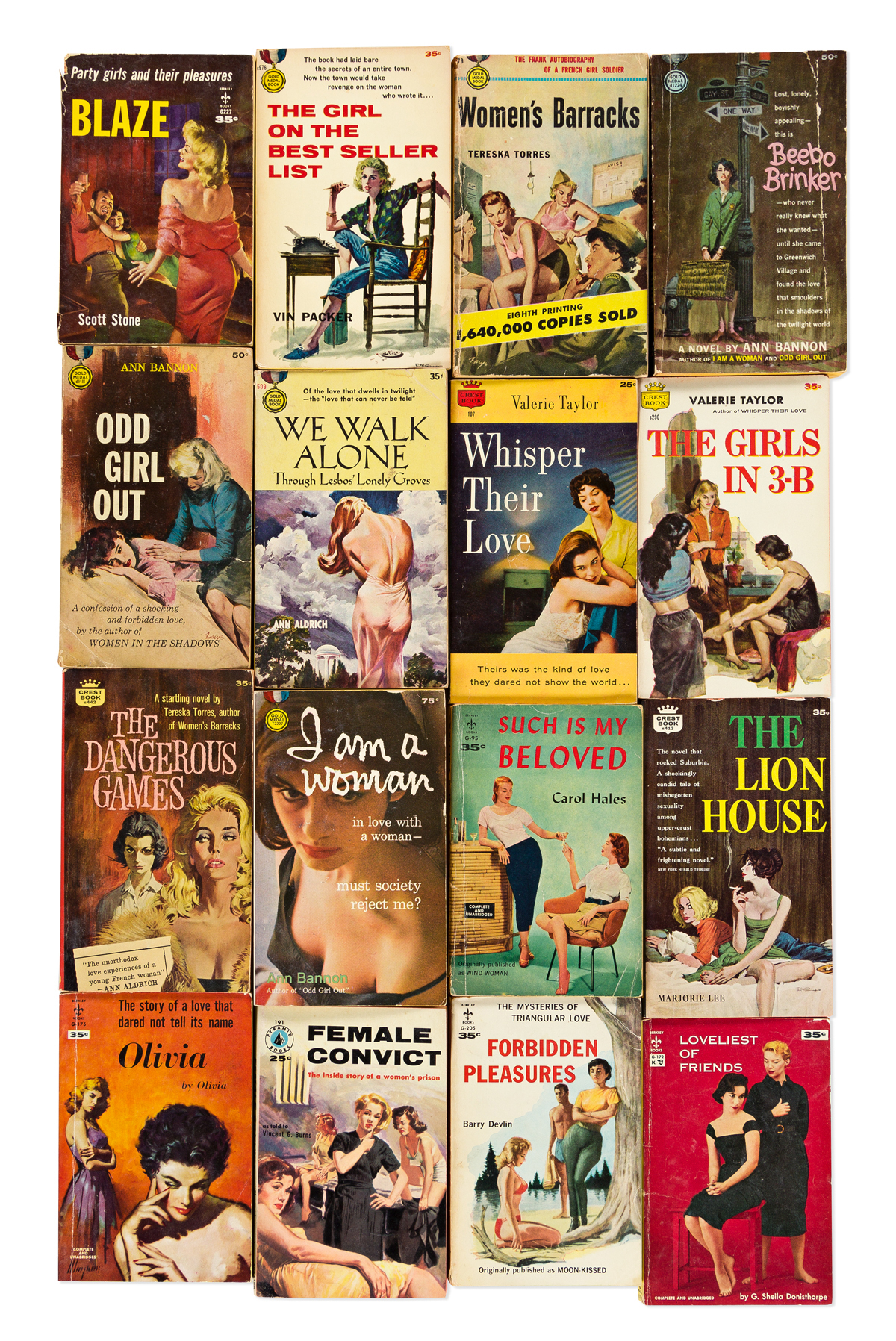 VARIOUS AUTHORS- VARIOUS ARTISTS Lesbian Pulp Fiction.
