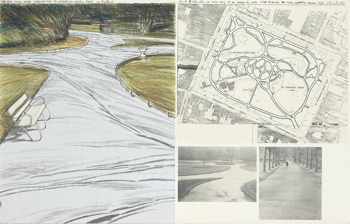 CHRISTO-Wrapped-Walk-Ways-Project-for-Stephens-Green-Par-Dub