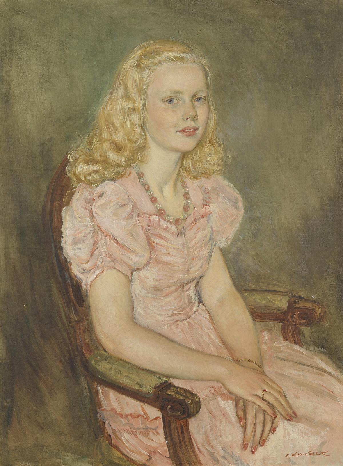 ELIASZ-KANAREK-Portrait-of-a-Dorothea-Vogel