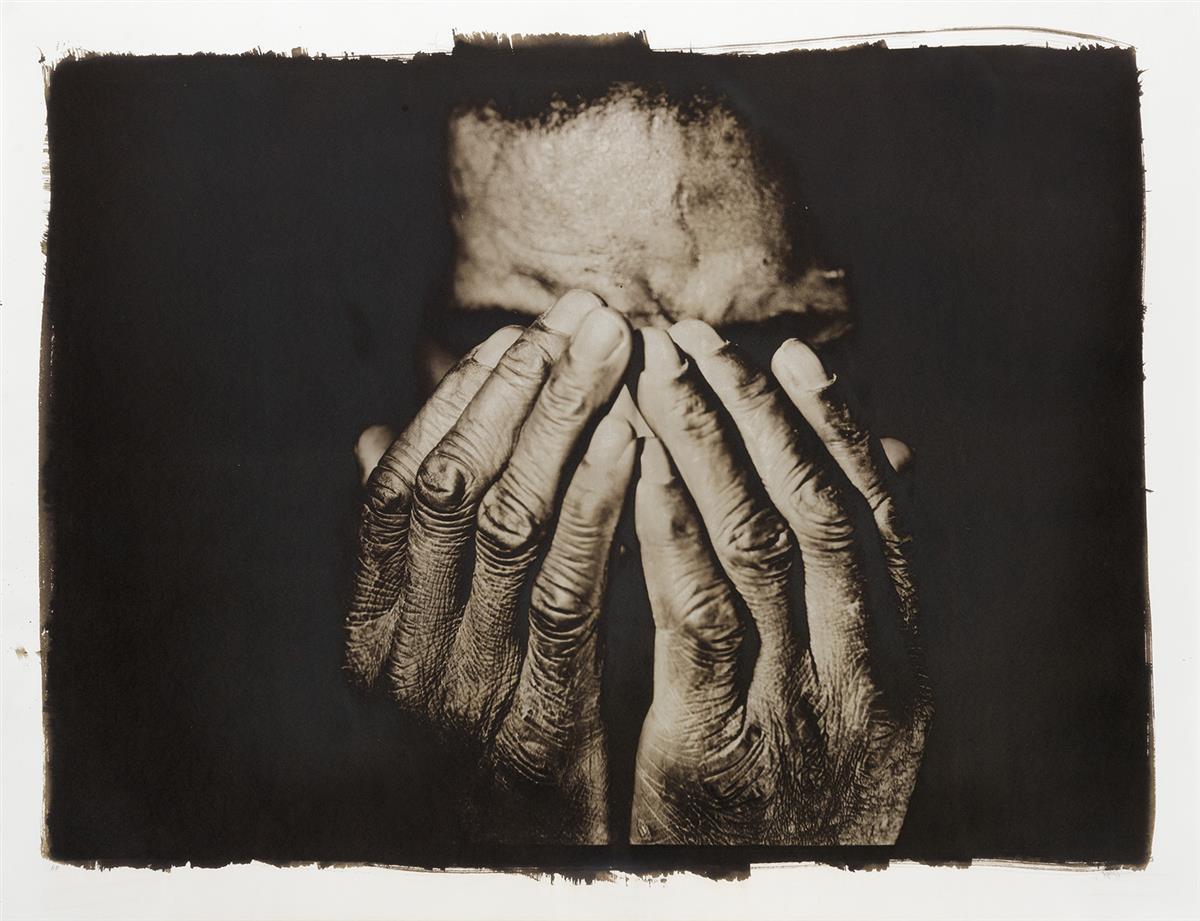 RASHID JOHNSON (1977 -   ) Jonathan with Hands.