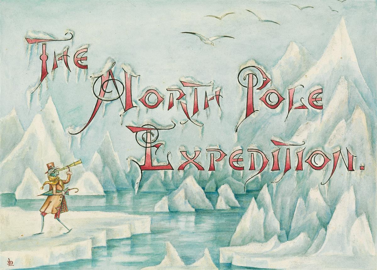 LILLIAN C. DAVIDS. Doings of the Grasshoppers. The North Pole Expedition.