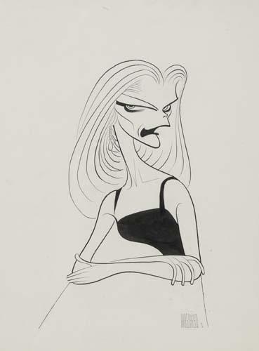 Lauren Bacall in Cactus Flower.