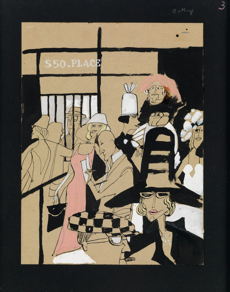 TOMI UNGERER. In the Stands * Betting.
