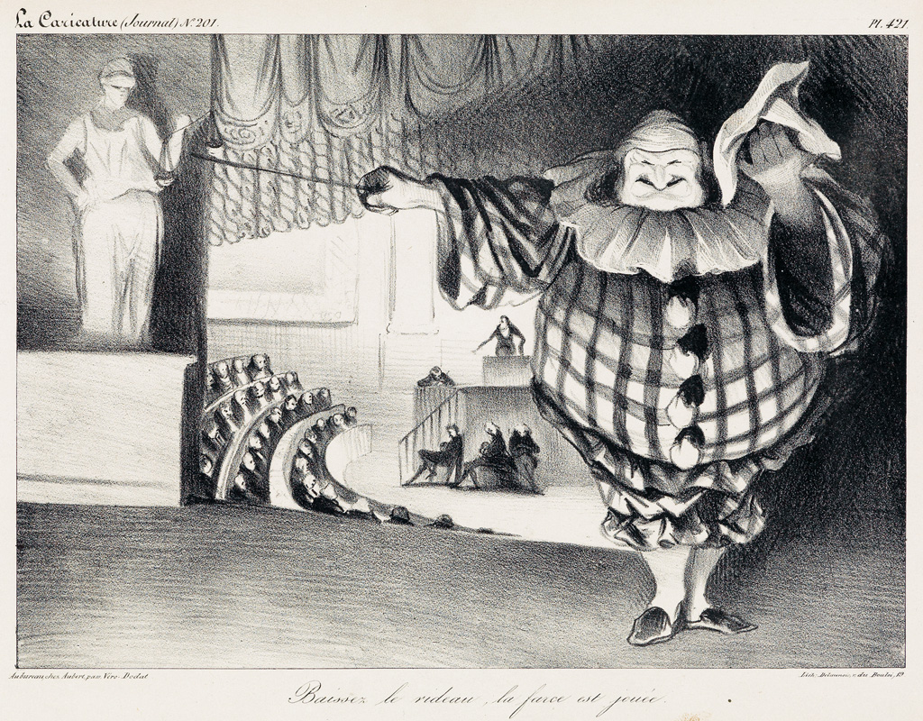 HONORÉ-DAUMIER-Collection-of-approximately-20-lithographs