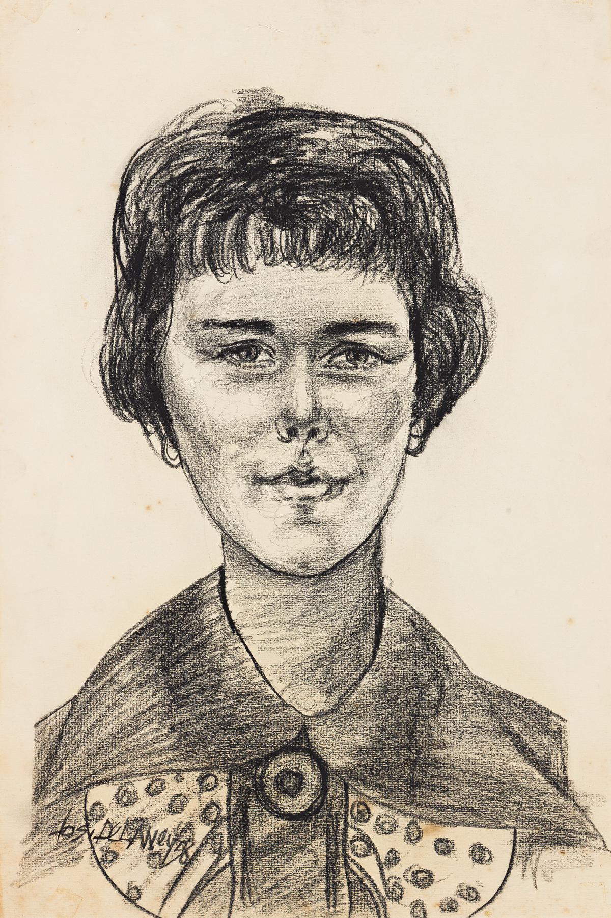 JOSEPH DELANEY (1904-1991) Untitled (Portrait of a Young Woman).