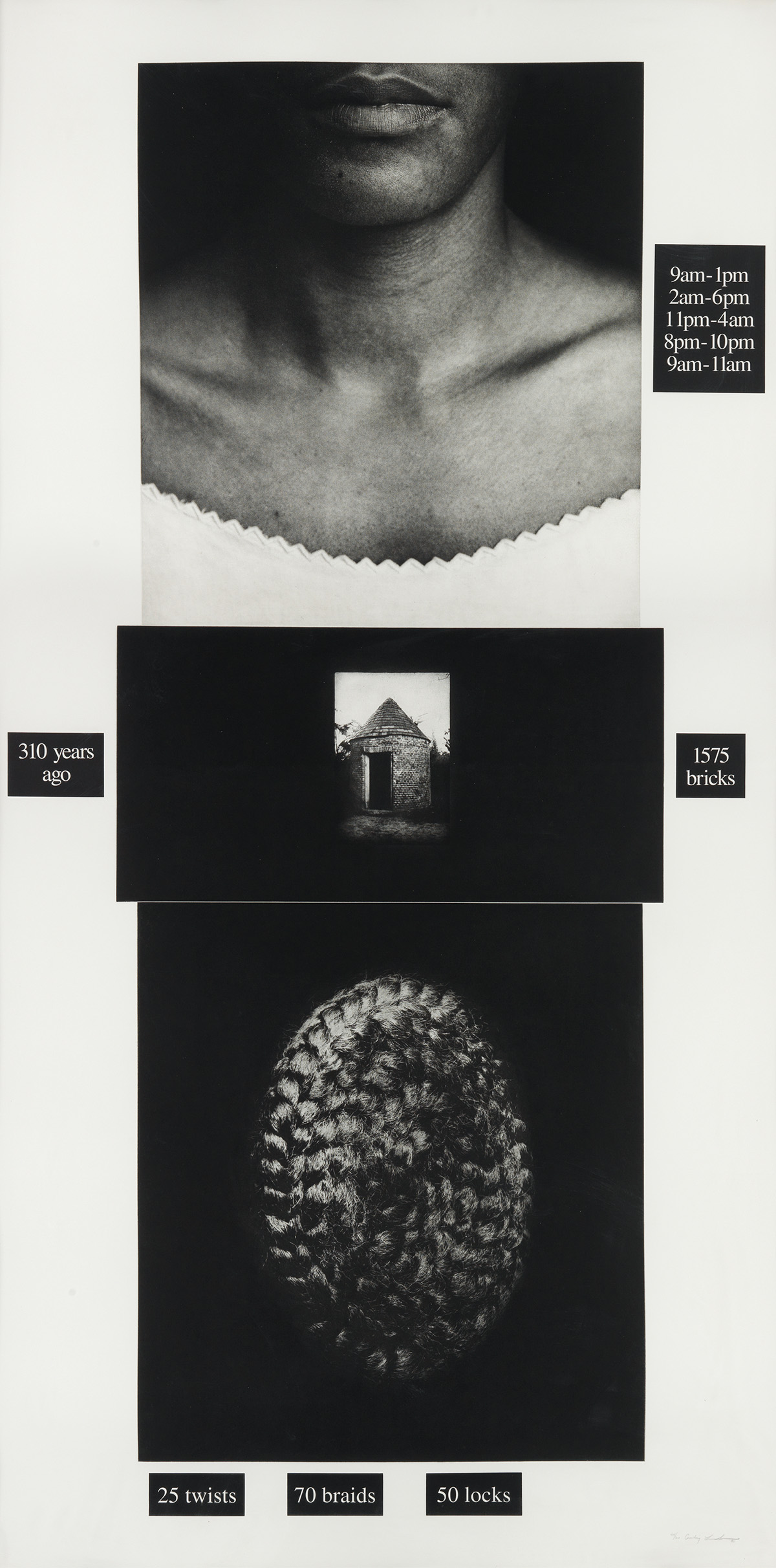 LORNA SIMPSON (1960 -   ) Counting.