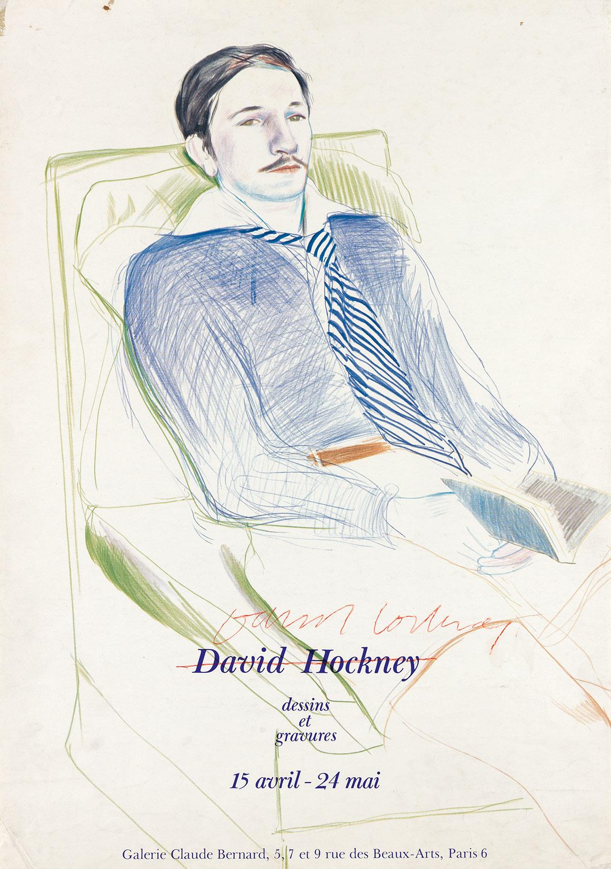 DAVID-HOCKNEY-David-Hockney-Dessins-et-Gravures-for-Galerie-