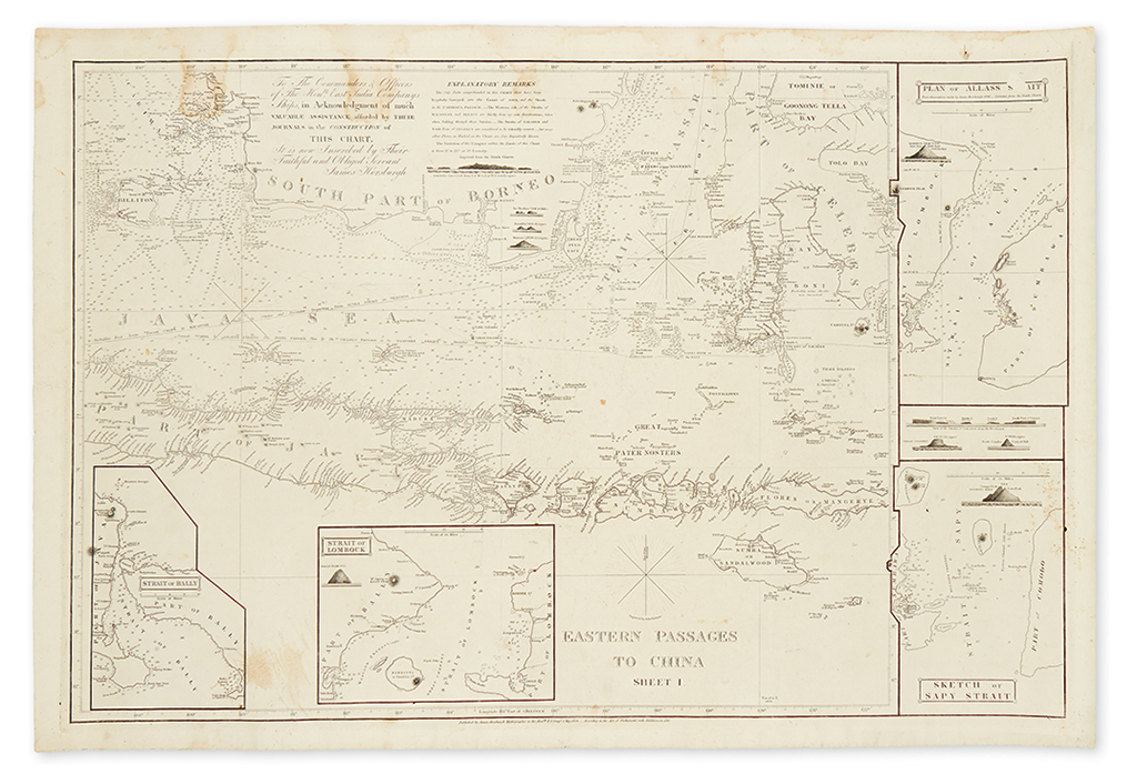 HORSBURGH-JAMES-Eastern-Passages-to-China-Sheet-I