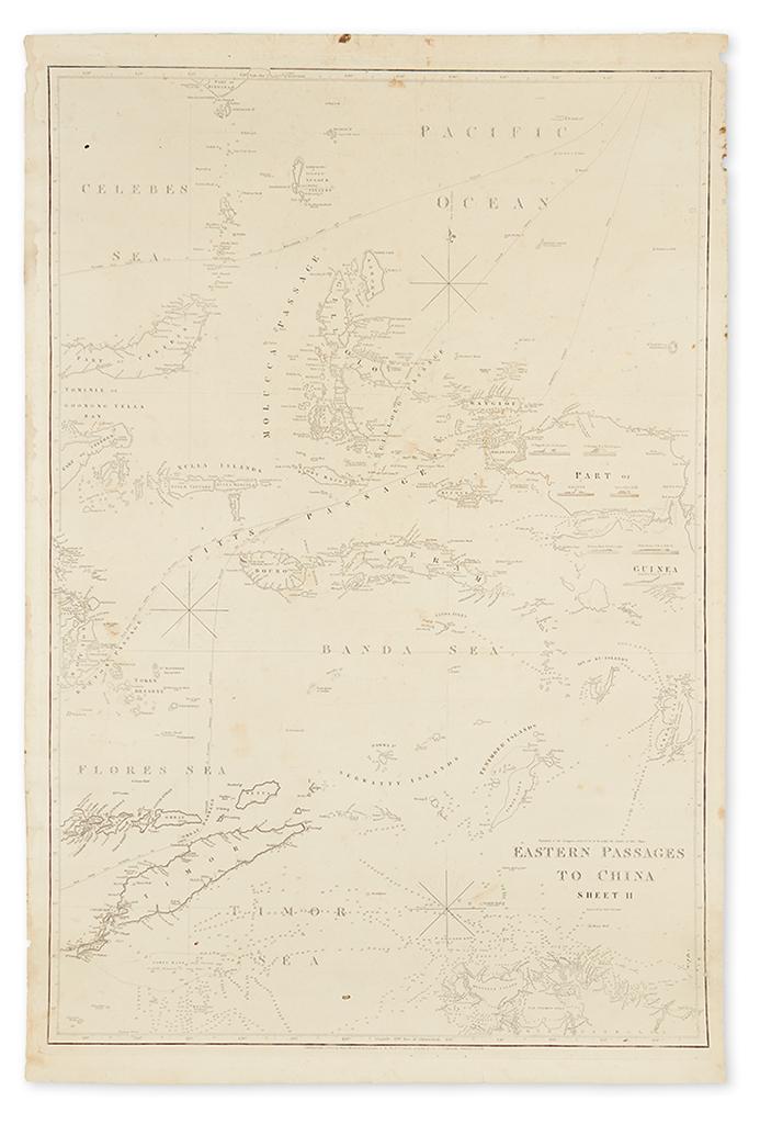 HORSBURGH-JAMES-Eastern-Passages-to-China-Sheet-II