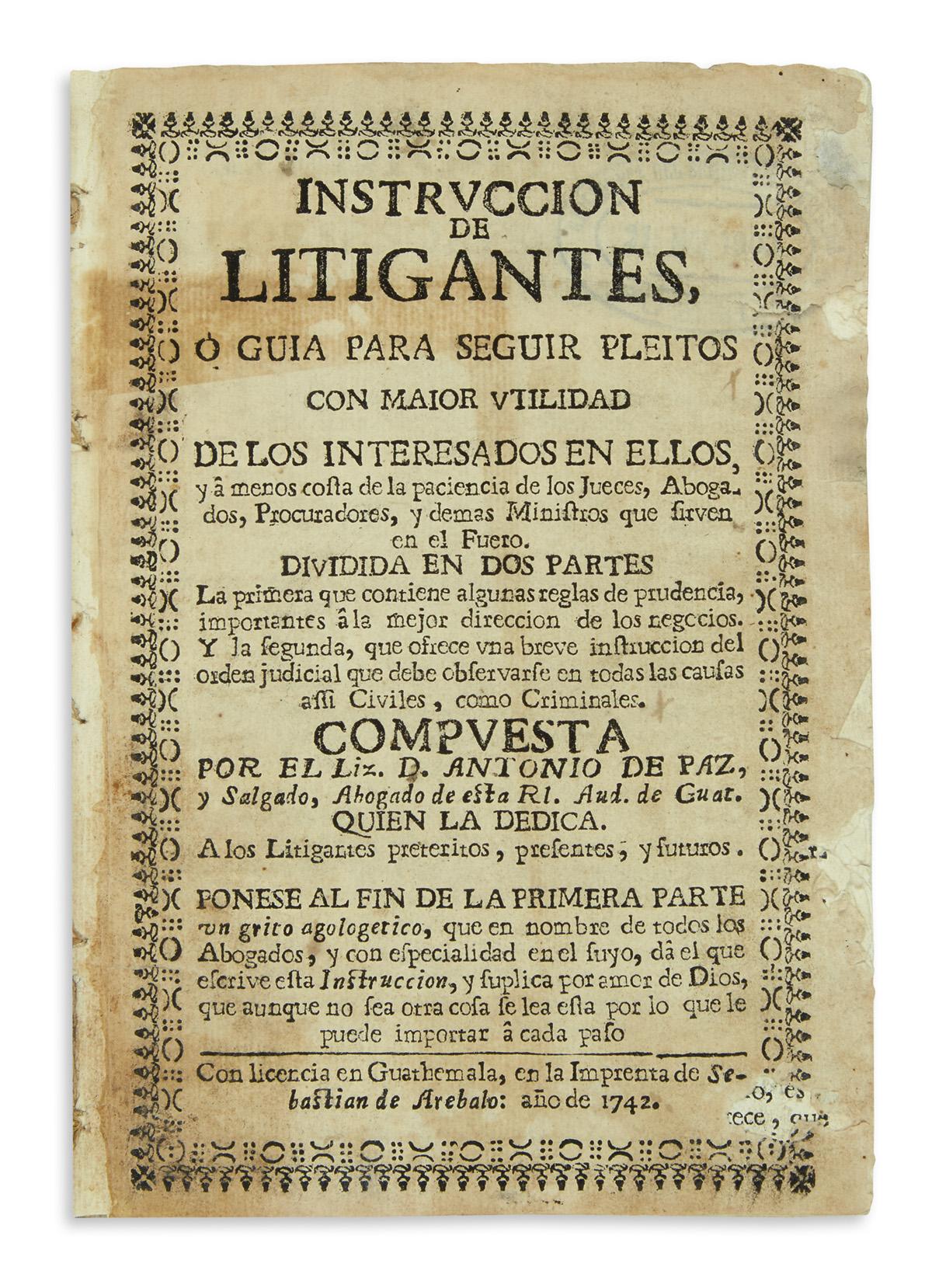 (GUATEMALA)-Paz-y-Salgado-Antonio-de-Instruccion-de-litigant