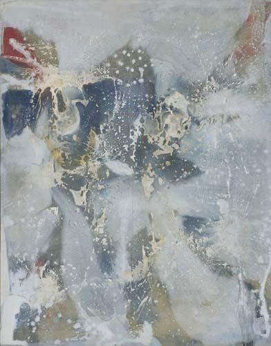 ROMARE-BEARDEN-Blue-is-the-Smoke-of-War-White-the-Bones-of-M