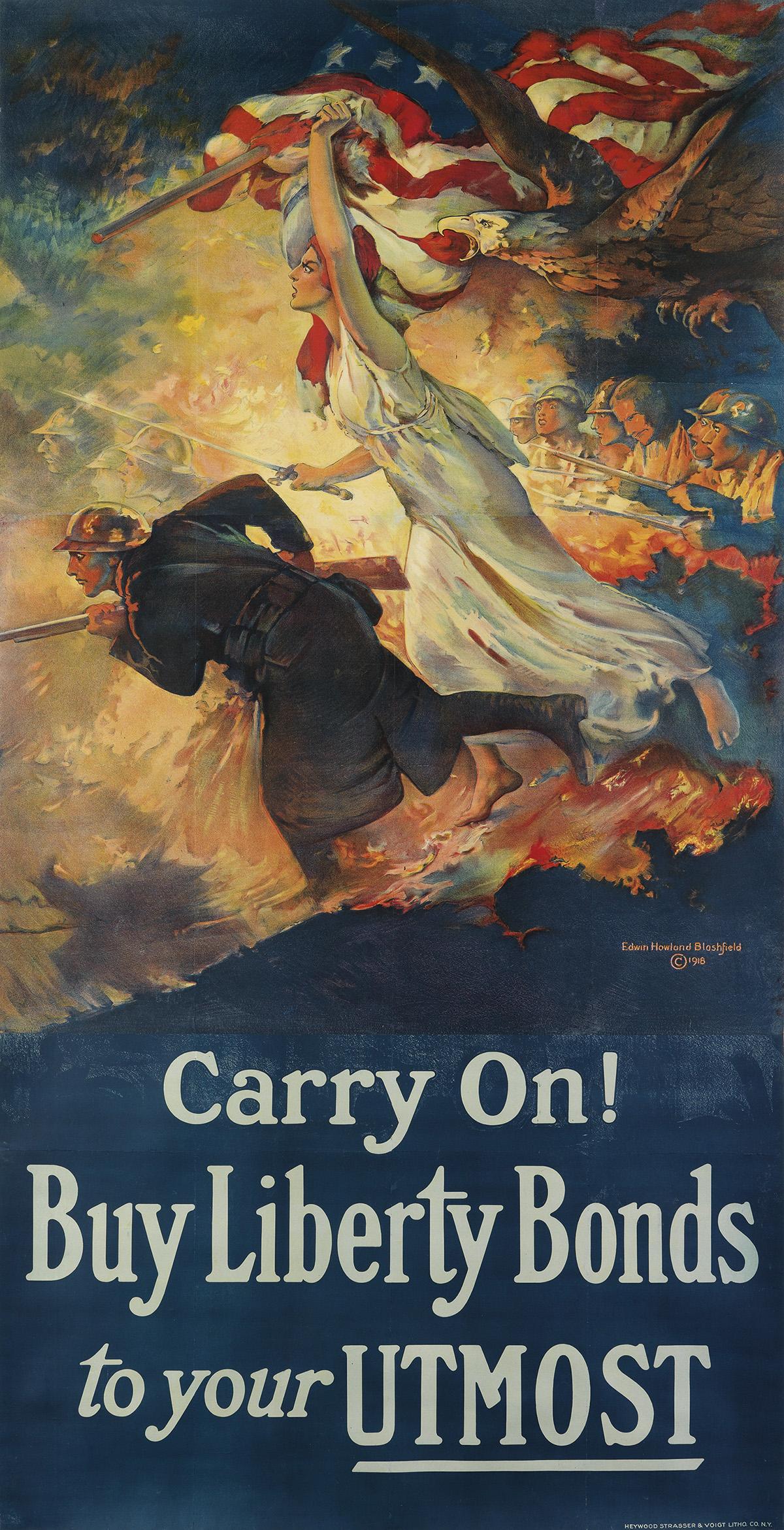 EDWIN-HOWLAND-BLASHFIELD-(1848-1936)-CARRY-ON--BUY-LIBERTY-B