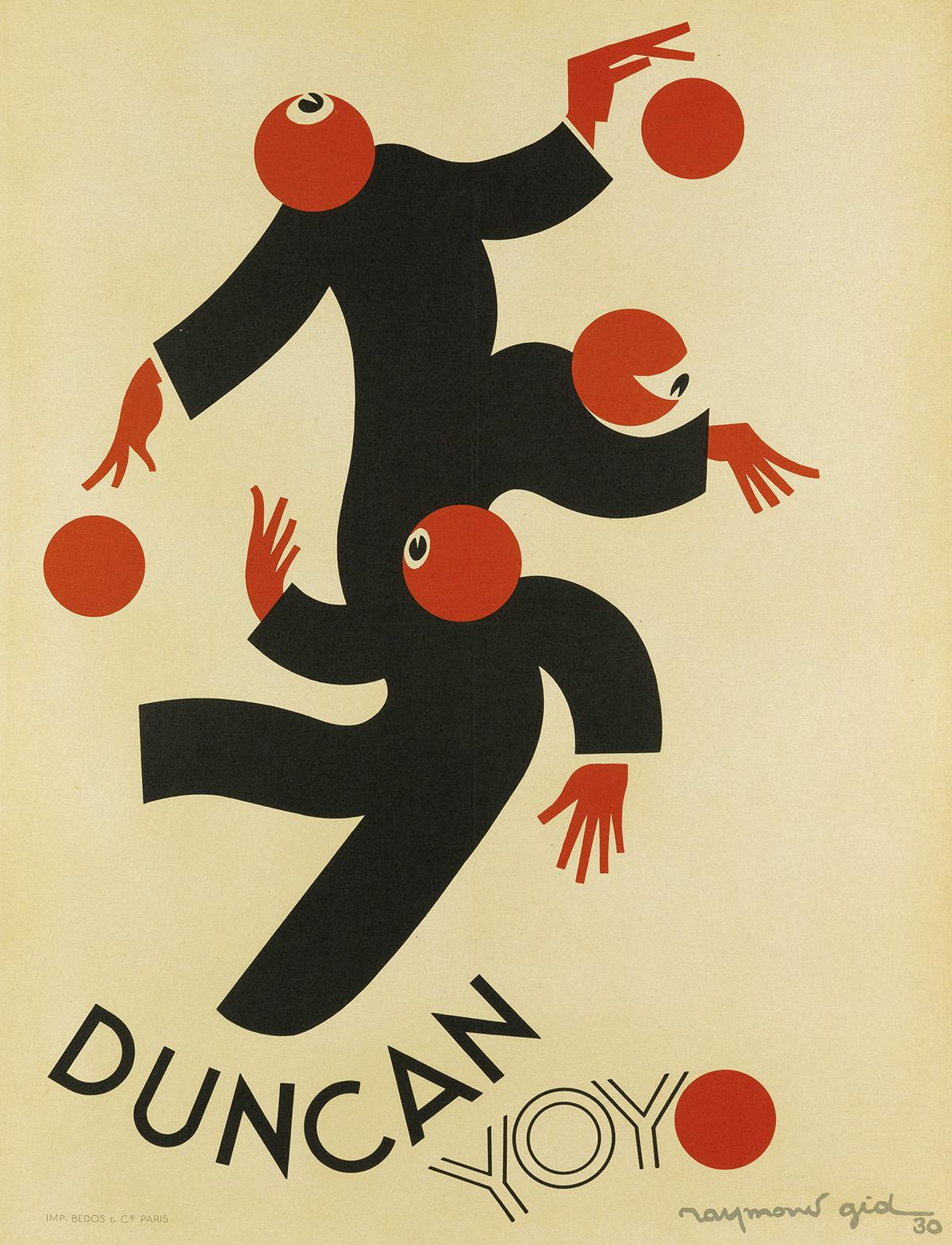 RAYMOND-GID-(1905-2000)-DUNCAN-YOYO-1930-31x23-inches-78x60-