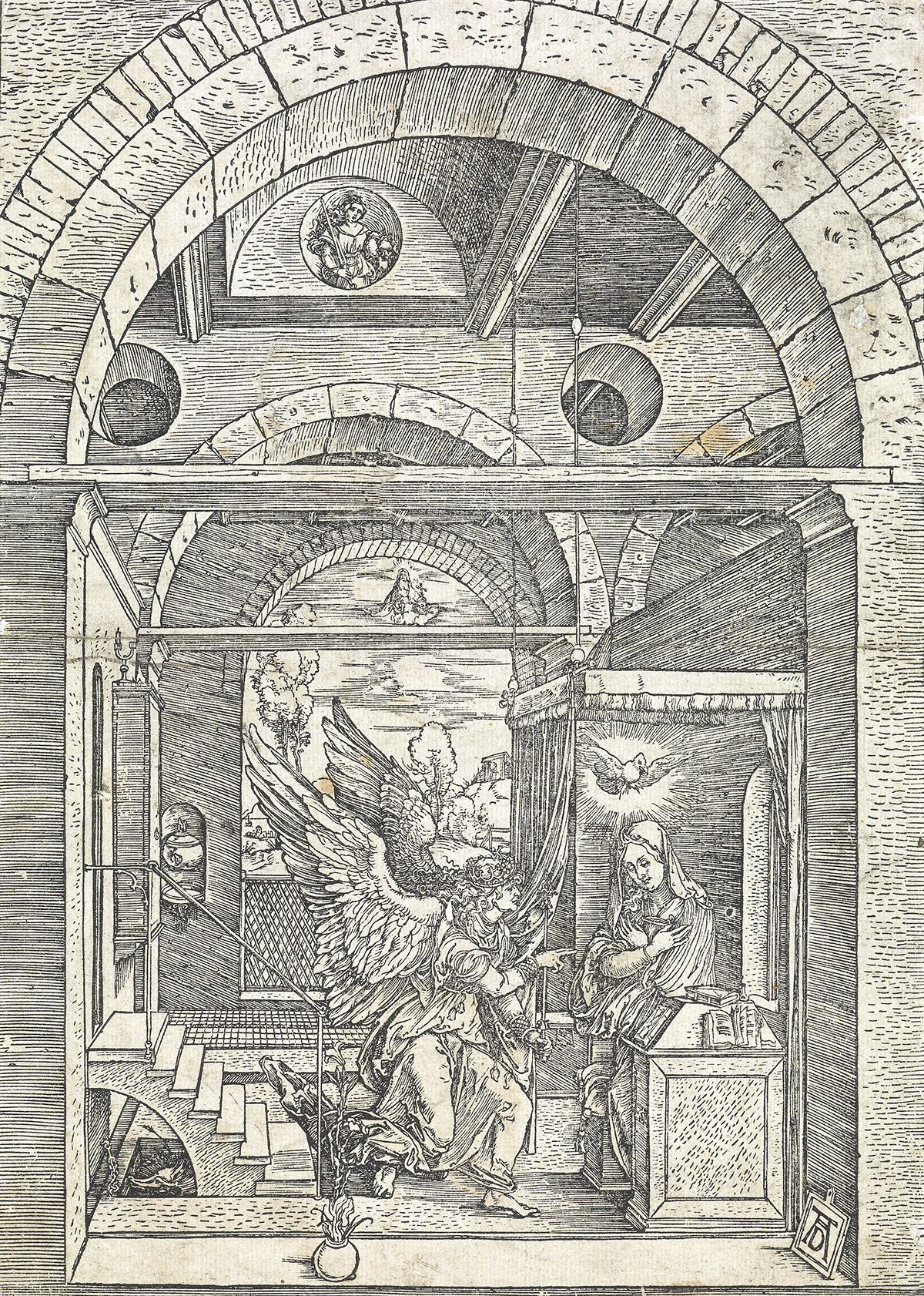 ALBRECHT-DÜRER-The-Annunciation