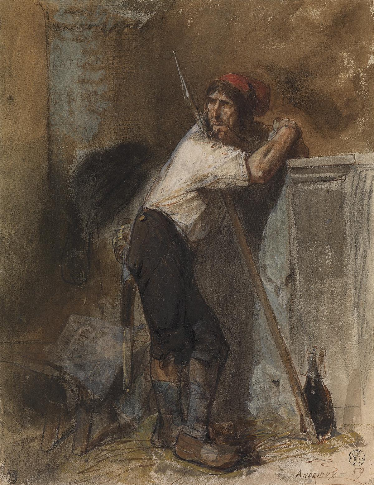 CLÉMENT-AUGUSTE-ANDRIEUX-(Paris-1829-1880-Samois-sur-Seine)-