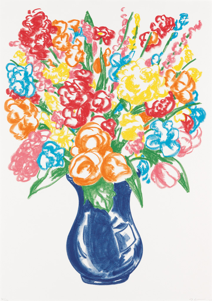 JEFF KOONS Flowers.