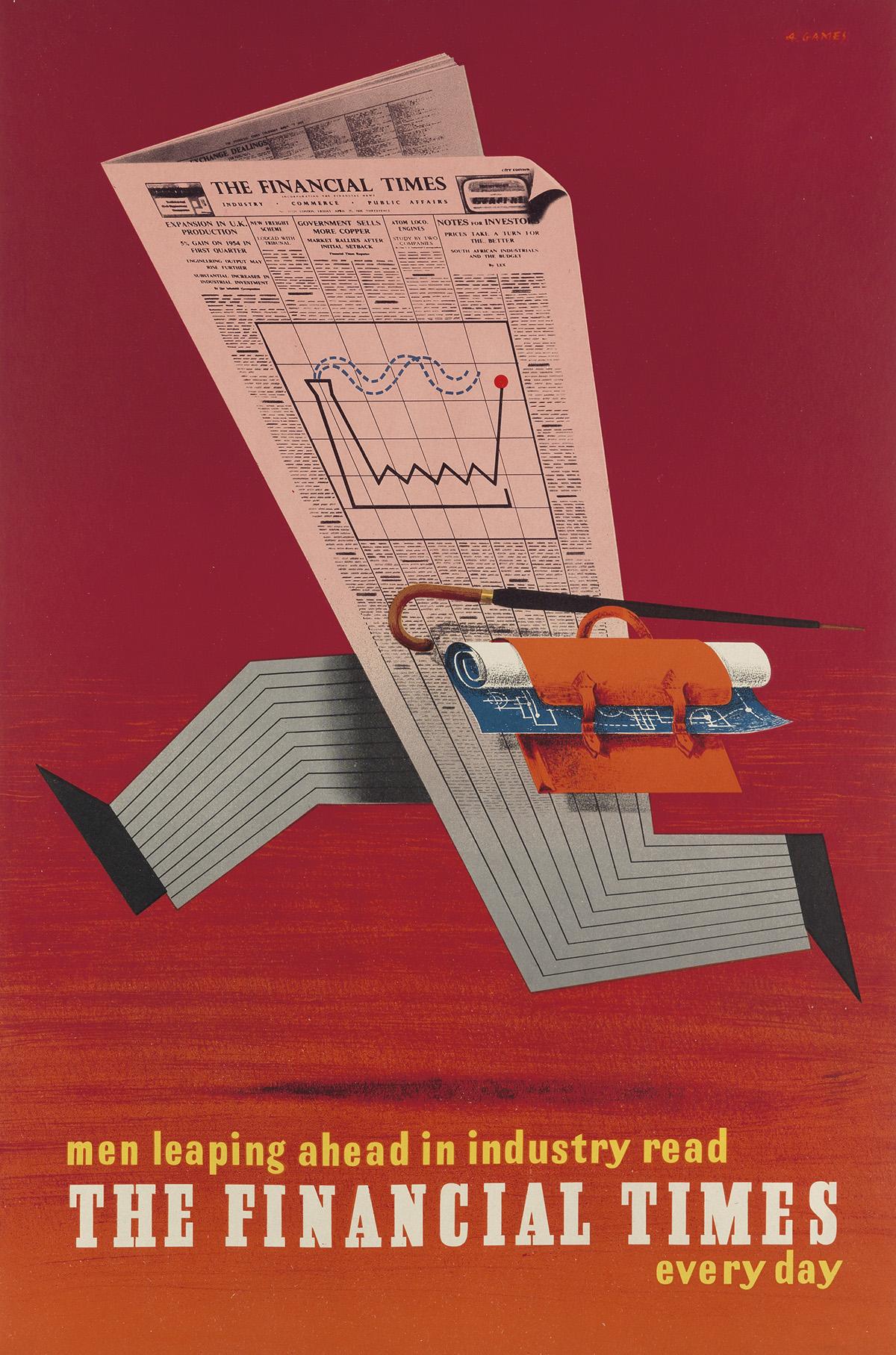 ABRAM-GAMES-(1914-1996)-MEN-LEAPING-AHEAD-IN-INDUSTRY-READ-T