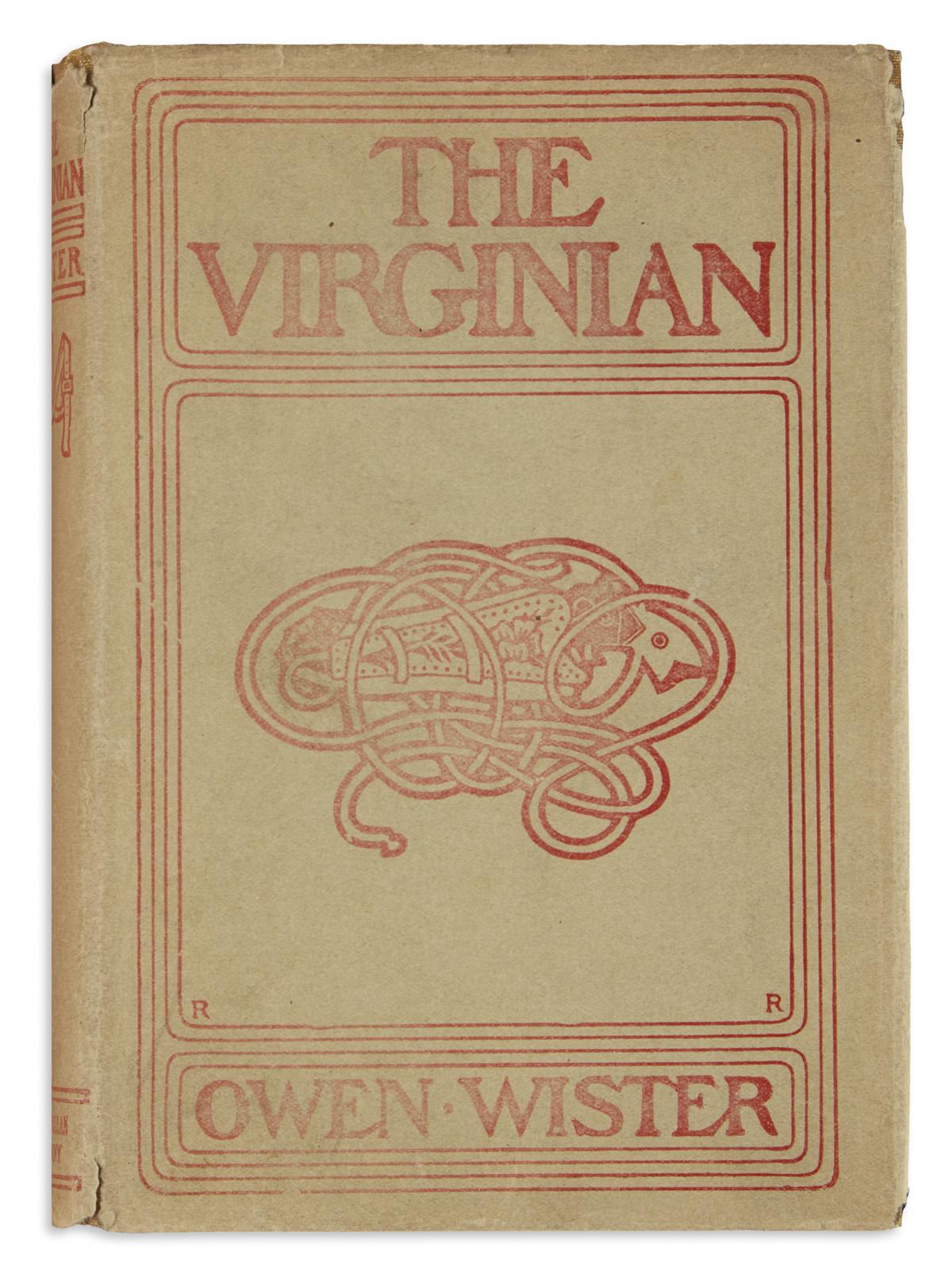 WISTER-OWEN-The-Virginian-A-Horseman-of-the-Plains