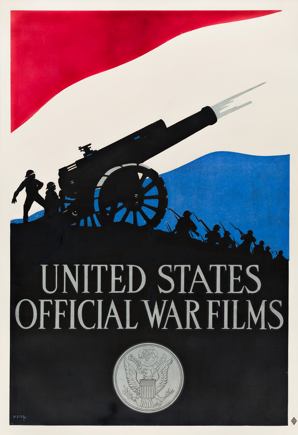 KERR-(DATES-UNKNOWN)-UNITED-STATES-OFFICIAL-WAR-FILMS-1917-41x28-inches-104x71-cm-The-Hegeman-Print-New-York
