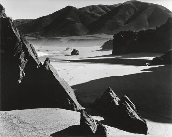 WESTON-BRETT-(1911-1993)-Garrapata-Beach-California