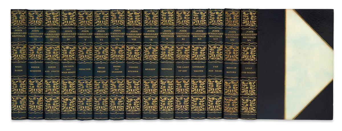 BURROUGHS, JOHN. Writings.