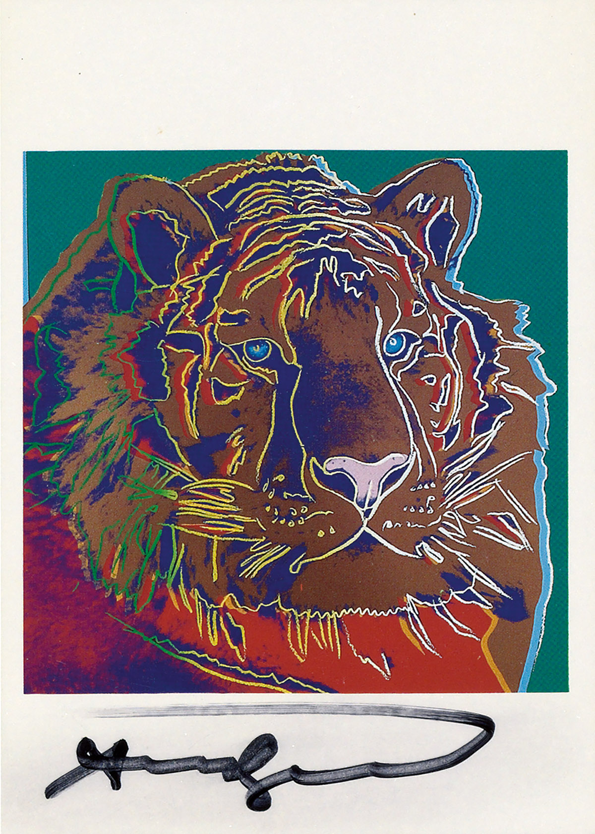 ANDY WARHOL (after) Endangered Species