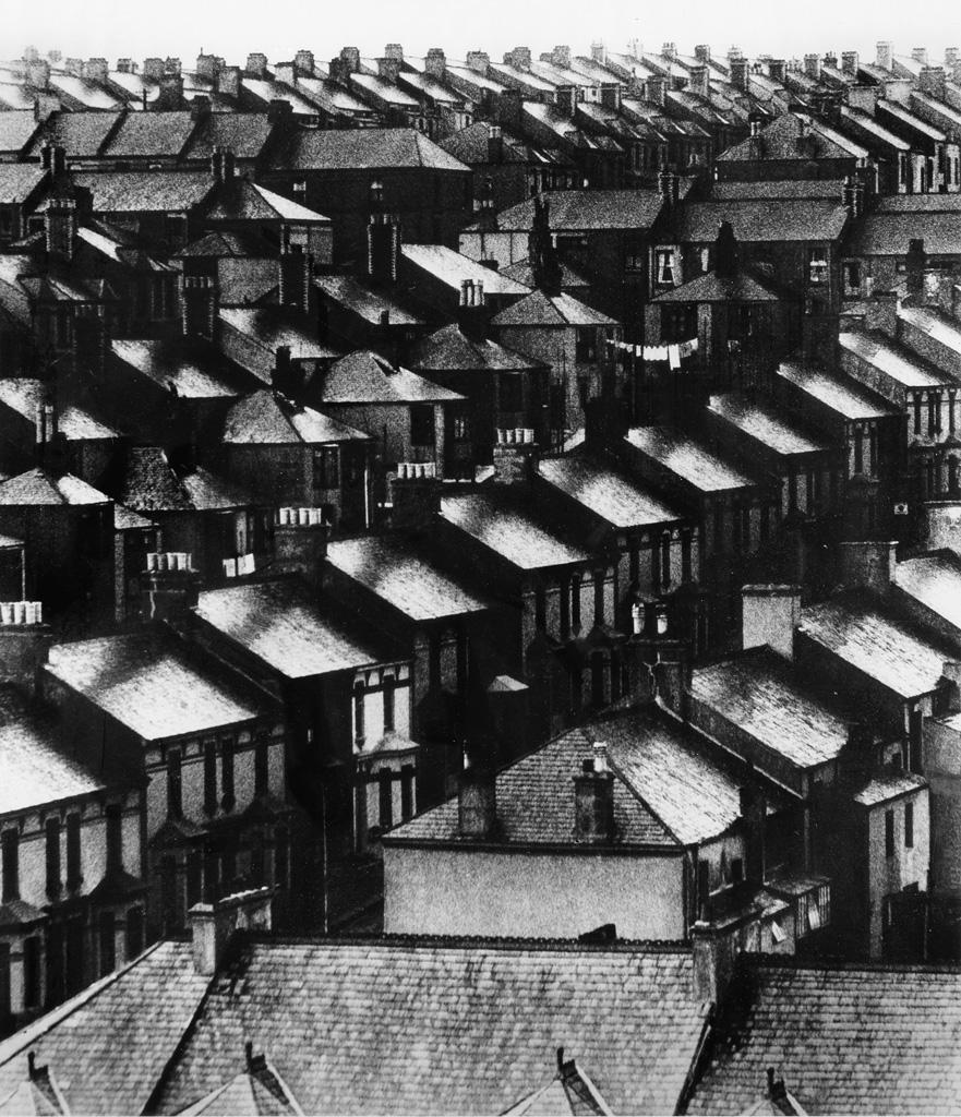 BILL BRANDT (1904-1983) Rainswept Roofs.