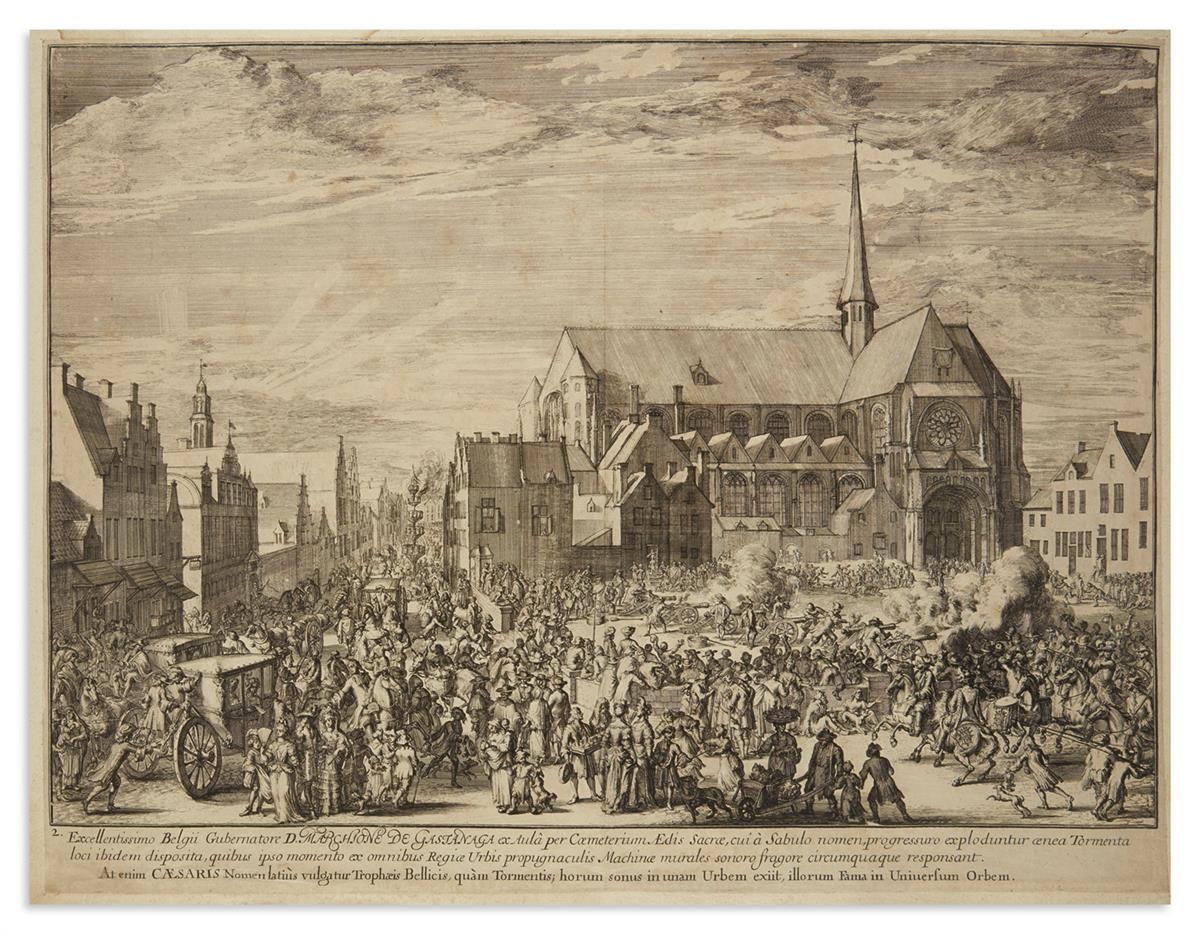 DE-HOOGHE-ROMEYN-3-double-page-etched-and-engraved-plates