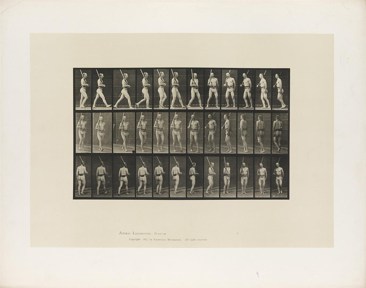 EADWEARD-MUYBRIDGE-(1830-1904)-A-selection-of-4-plates-from-