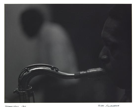 (PHOTOGRAPHY.) DE CARAVA, ROY. Coltrane and Elvin, 1960.