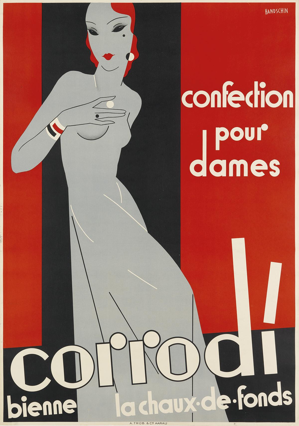 JOHANNES-HANDSCHIN-(1899-1948)-CORRODI--CONFECTION-POUR-DAME
