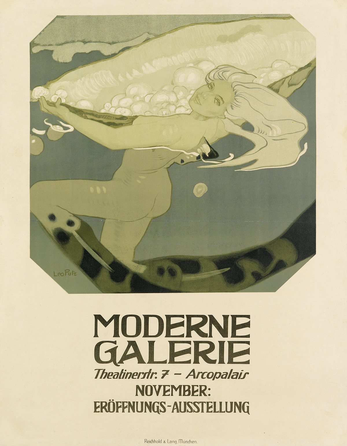 LEO-PUTZ-(1869-1940)-MODERNE-GALERIE-1909-41x31-inches-106x78-cm-Reichhold--Lang-Munich