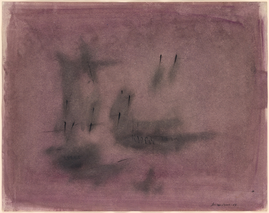 NORMAN-LEWIS-(1909---1979)-Untitled-(Abstract-Composition-in