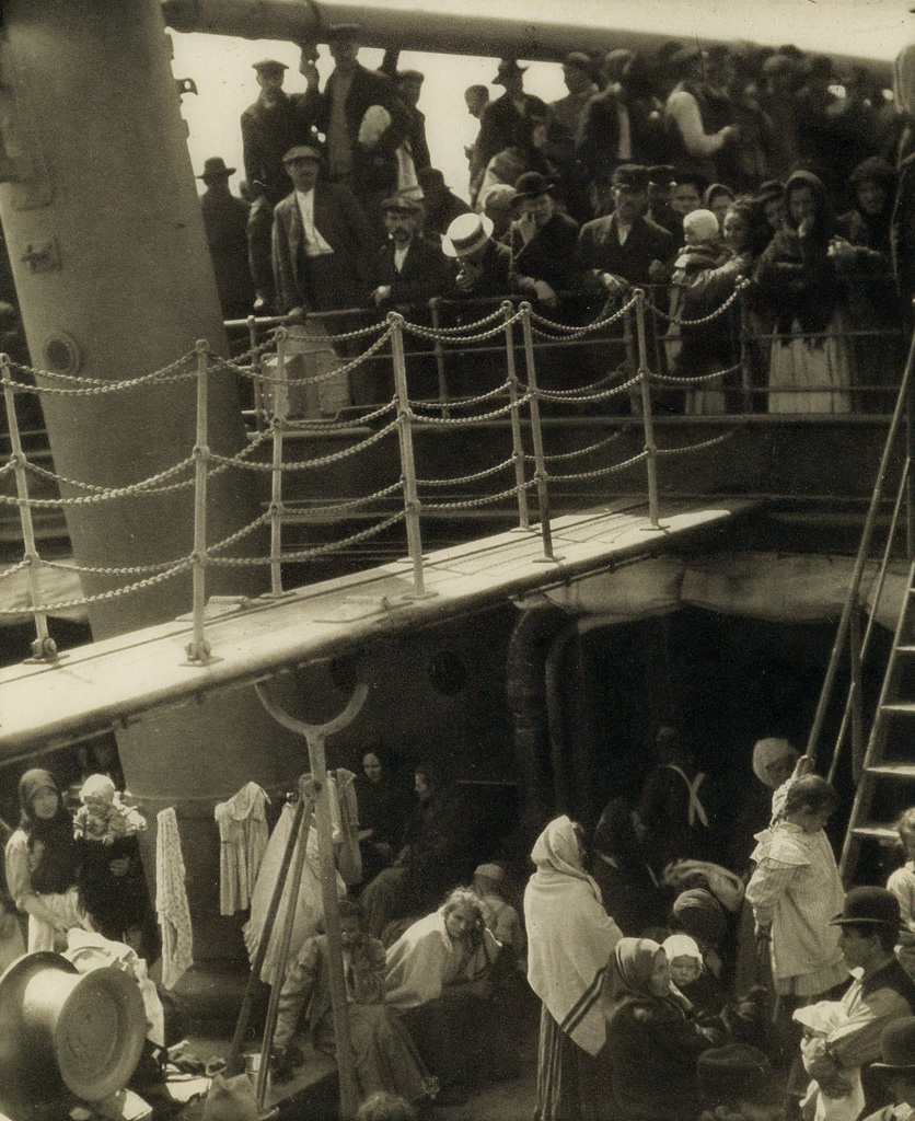 ALFRED-STIEGLITZ-(1864-1946)-The-Steerage-and-Spring-Showers