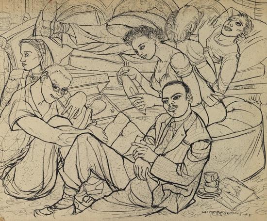 CALVIN BURNETT (1921 - 2007) Ballads.